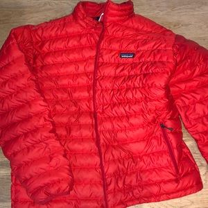 Men's Patagonia down jacket